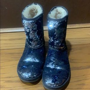 Sequined UGGS